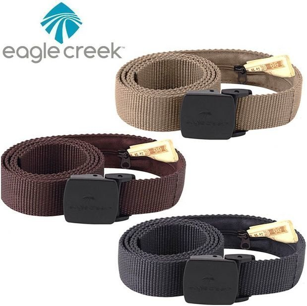 Eagle Creek All Terrain Money Belt rahavyö kolme väriä