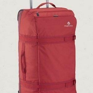 Eagle Creek No Matter What Flatbed Duffel 101L punainen iso matkalaukku