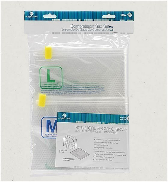 Eagle Creek Pack-It Compression sac set kompressiopussi setti M/L
