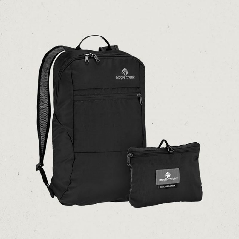 Eagle Creek Packable Daypack pakattava reppu musta