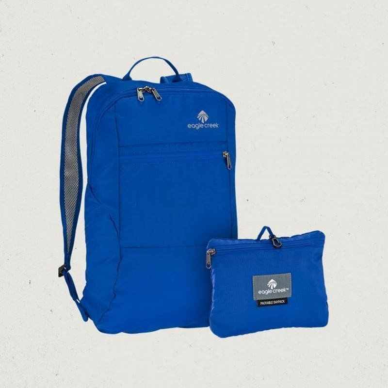 Eagle Creek Packable Daypack pakattava reppu sininen