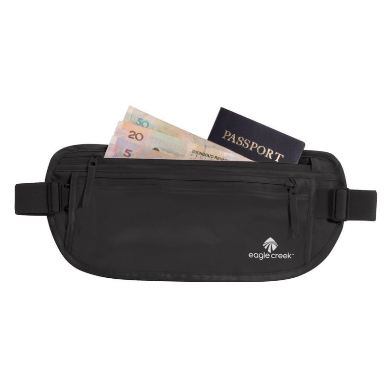 Eagle Creek Silk Undercover Money Belt 1SIZE Black