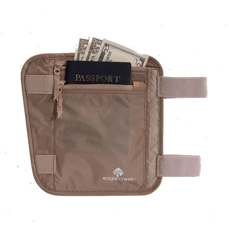 Eagle Creek Undercover Leg Wallet Khaki