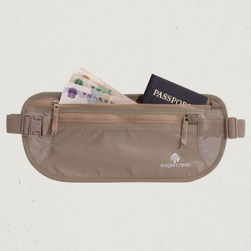 Eagle Creek Undercover Money Belt DLX vyölaukku khaki