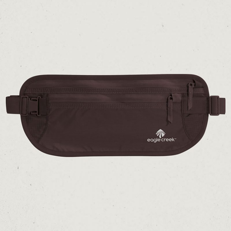 Eagle Creek Undercover Money Belt DLX vyölaukku mocha