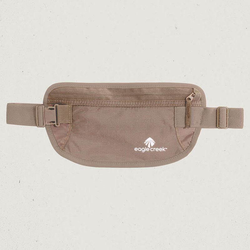 Eagle Creek Undercover Money Belt vyölaukku khaki