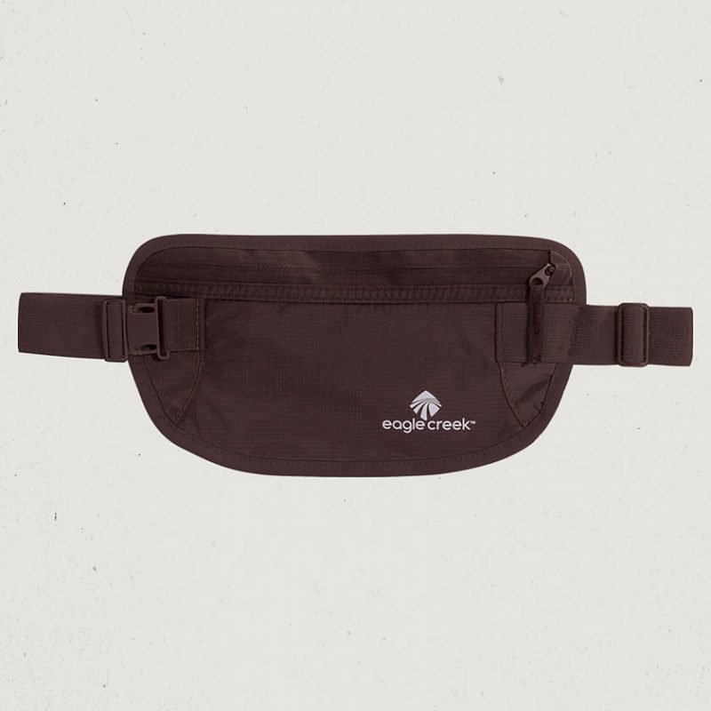 Eagle Creek Undercover Money Belt vyölaukku mocha