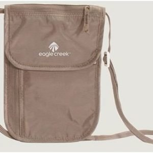 Eagle Creek Undercover Neck Wallet Deluxe kaulapussi khaki