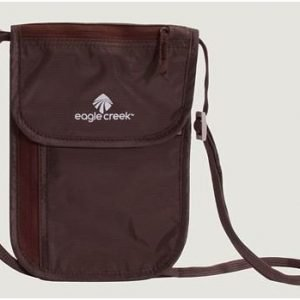 Eagle Creek Undercover Neck Wallet Deluxe kaulapussi mocha