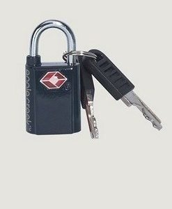 Eagle Creek mini key TSA lock mini avainlukko musta