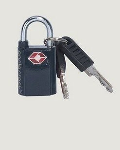 Eagle Creek mini key TSA lock mini avainlukko musta