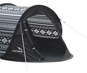 Easy Camp Antic hetivalmis teltta Tribal Musta/Valkoinen