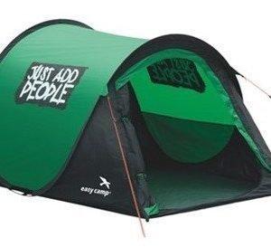 Easy Camp Funster heti valmis teltta Musta/Tumman vihreä