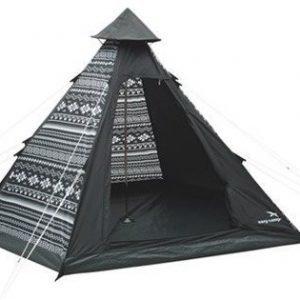 Easy Camp Tiipii Tribal Musta/Valkoinen tiipiiteltta