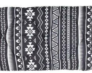 Easy Camp Tribal makuupussi musta & valkoinen