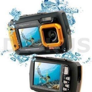 Easypix W1400 active vedenpitävä kamera oranssi tai sininen
