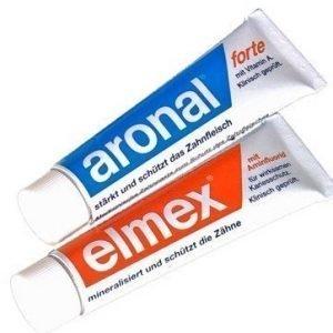 Elmex/Aronal mini matkahammastahna