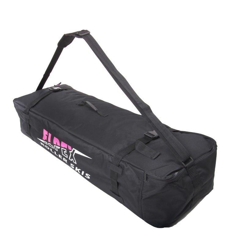 Elpex Roller Ski Bag DeLuxe ONESIZE Black