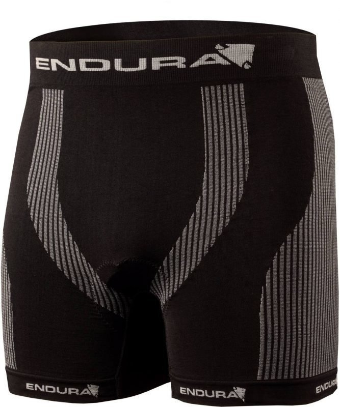 Endura Engineered Padded Boxer Musta XXL