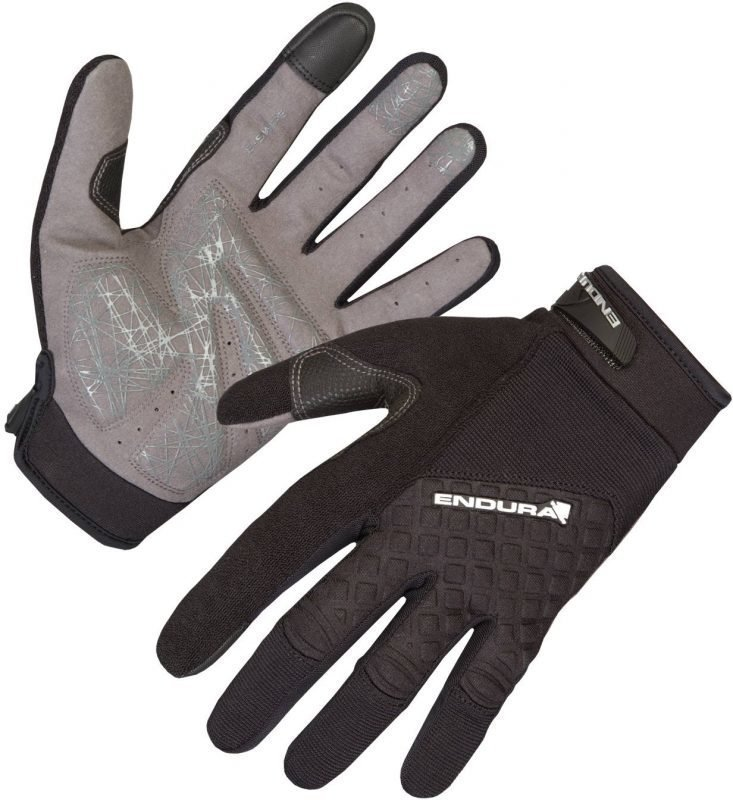 Endura Hummvee Plus Glove Musta L