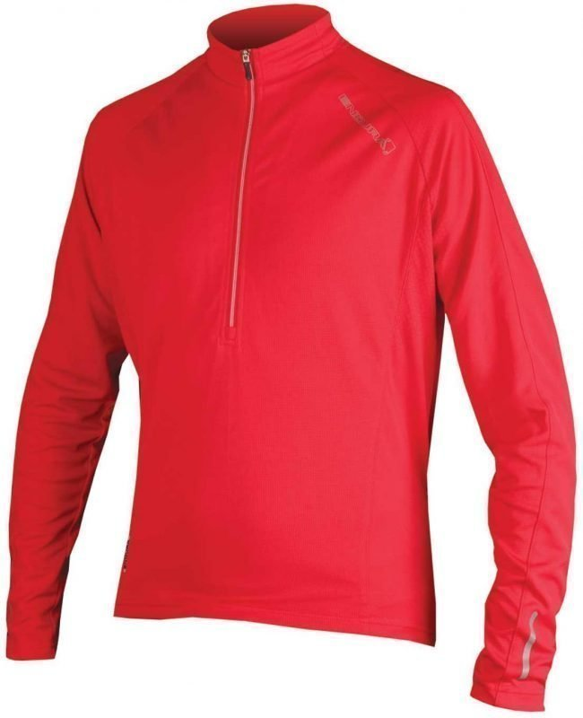 Endura Xtract LS Jersey Men Punainen XXL