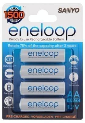 Eneloop - AA-akkuparisto 4 kpl