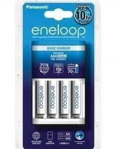 Eneloop Basic Charger + Eneloop AAA 750 mAh 4 pcs