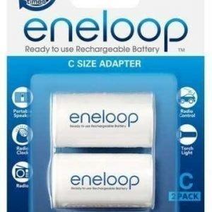 Eneloop - C-adpteri 2 kpl