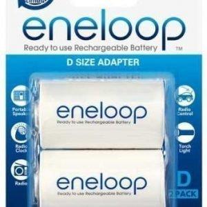 Eneloop - D-adpteri 2 kpl