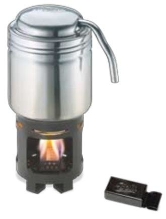 Esbit - Ruostumaton kahvinkeitin + polttoainetabletit