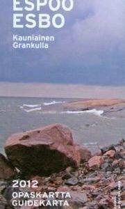 Espoo opaskartta 1:20 000 2012