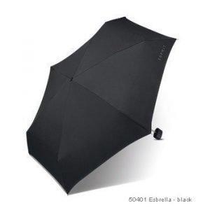 Esprit Esbrella matkasateenvarjo black