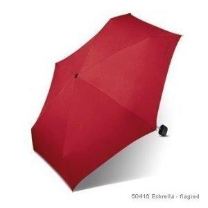 Esprit Esbrella matkasateenvarjo flagred
