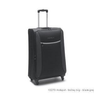 Esprit Hotspot 75/90L musta/harmaa