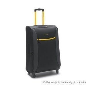 Esprit Hotspot 75/90L musta/keltainen