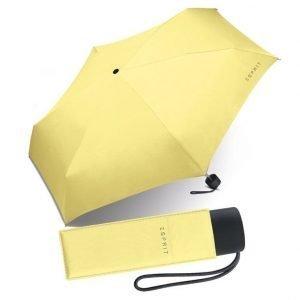 Esprit Petito matkasateenvarjo keltainen