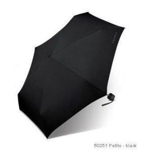 Esprit Petito matkasateenvarjo musta