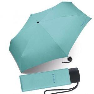 Esprit Petito matkasateenvarjo turkoosi