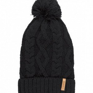 Everest G Mfn Cable Beanie Pipo Musta