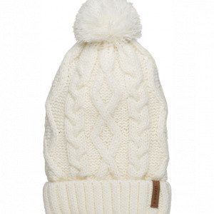 Everest G Mfn Cable Beanie Pipo Valkoinen