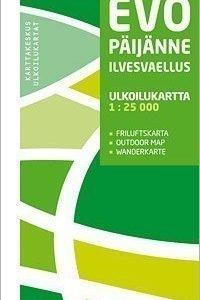 Evo Päijänne Ilvesvaellus ulkoilukartta 1:25 000 2012