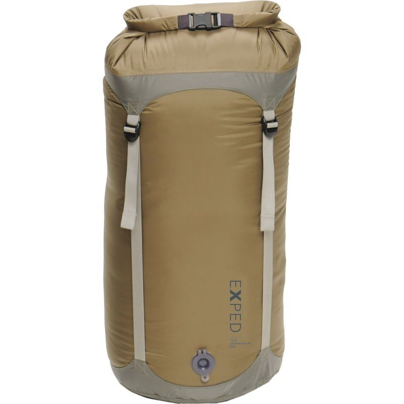 Exped Waterproof Telecompression Bag L L Clay Brown