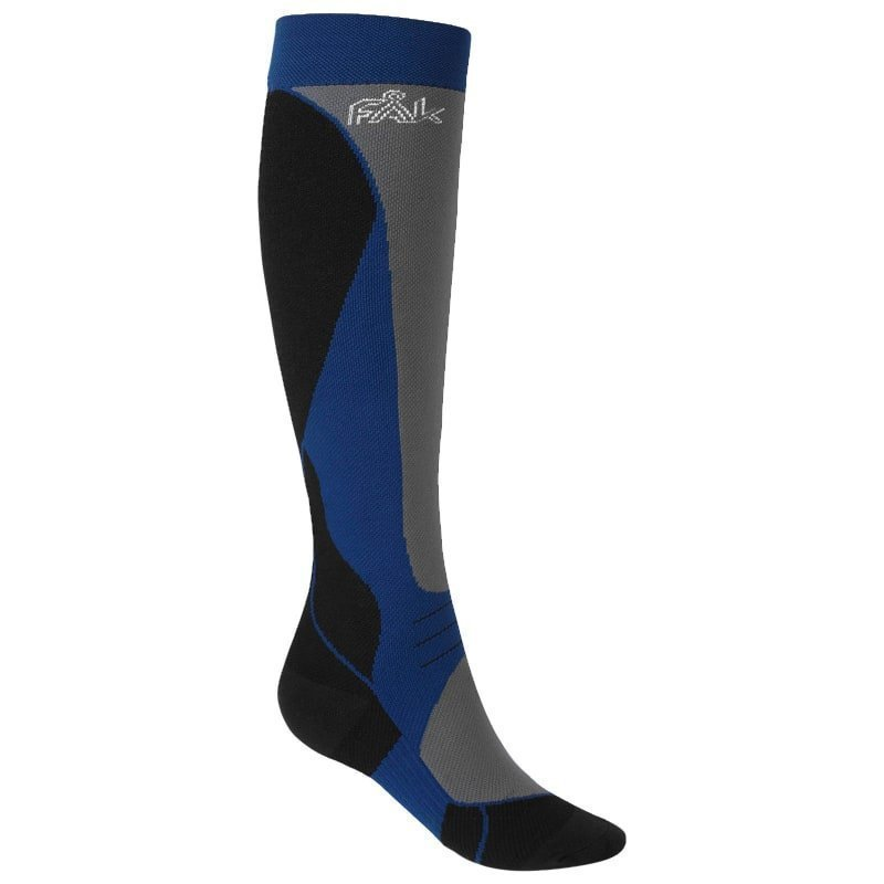FÅK Alpine Ski Compression Socks 36-38 Grey