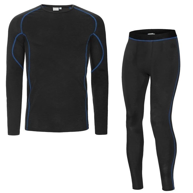FÅK Men's Merino Plus set S Dark Grey