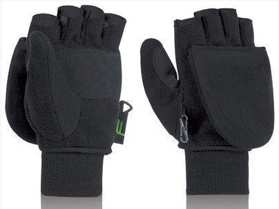 F Mitten musta sormikas/hansikas