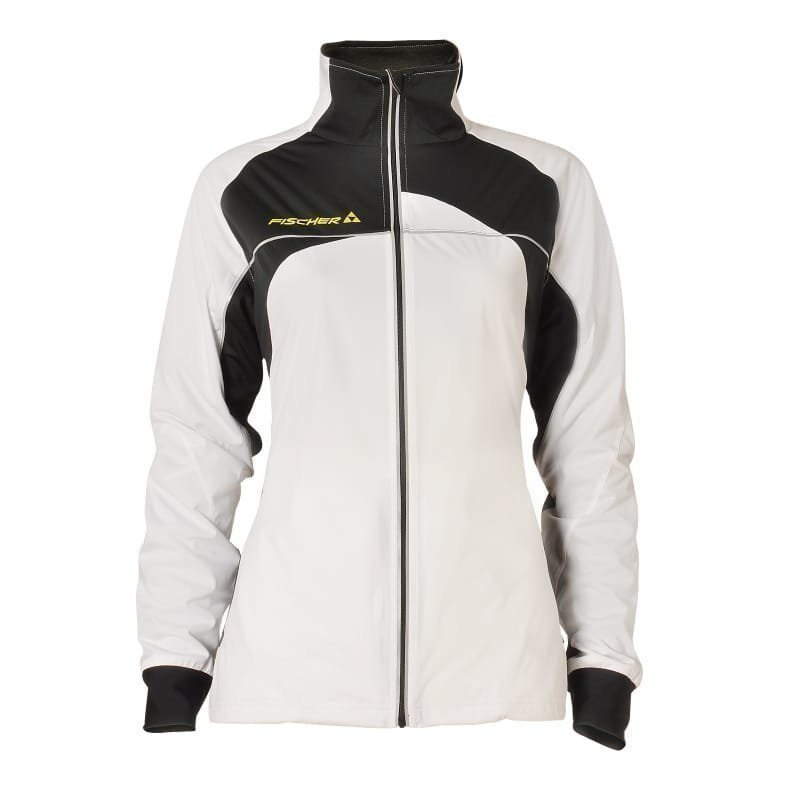 Fischer Bruks Softsh Jacket W L White/Black