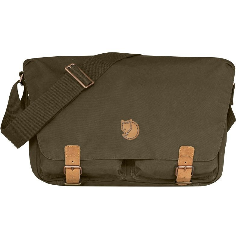 Fjällräven Övik Shoulder Bag 1 SIZE Dark Olive
