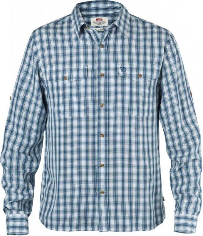 Fjällräven Abisko Cool Shirt LS Lake blue L