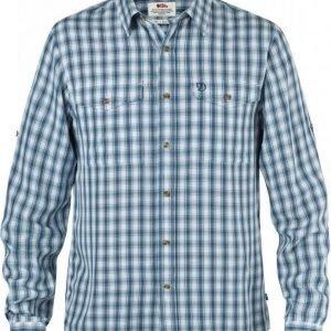 Fjällräven Abisko Cool Shirt LS Lake blue M