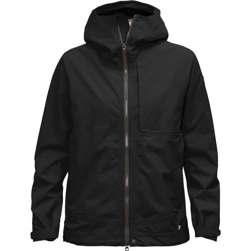 Fjällräven Abisko Eco-Shell Jacket W L Black